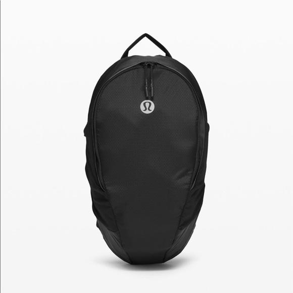 lululemon athletica Handbags - Lululemon Black Fast and Free Backpack 13L